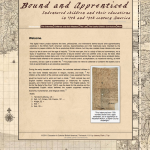 Figure 6.Bound and Apprenticed Front Page